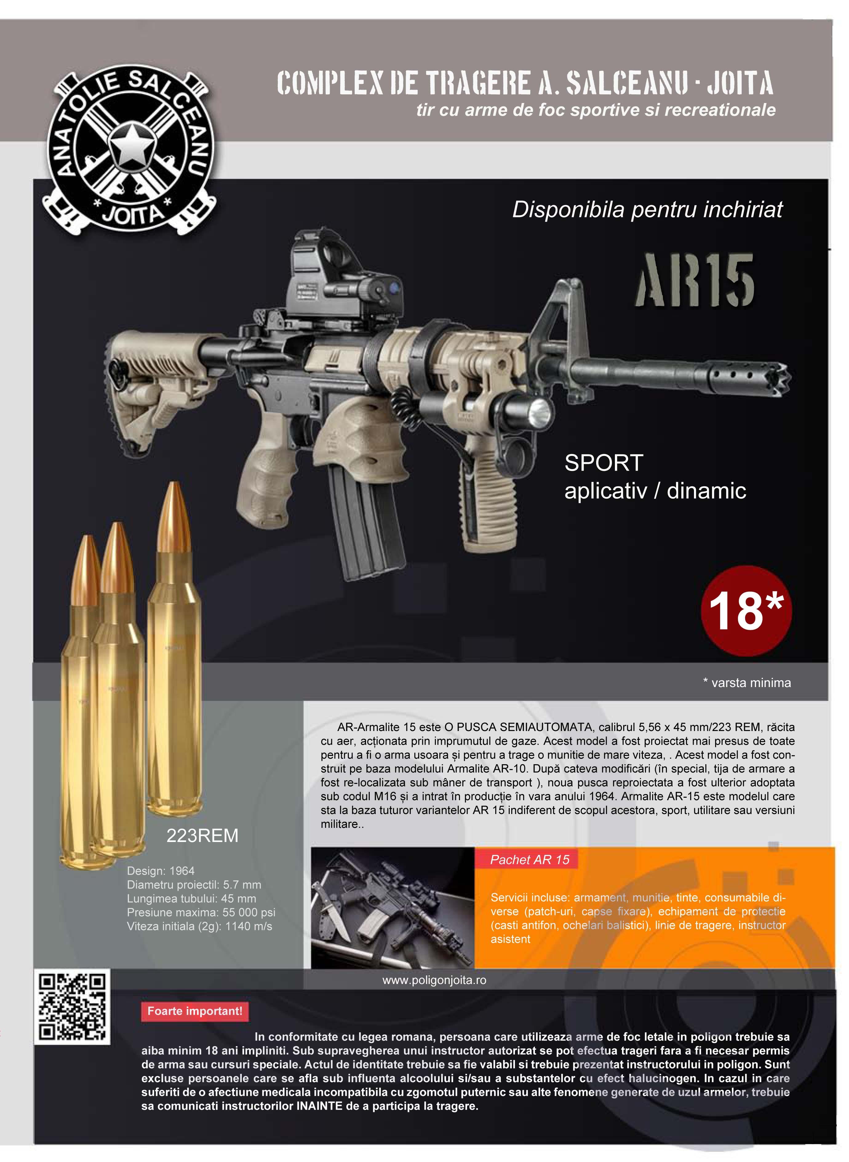 Plansa AR 15
