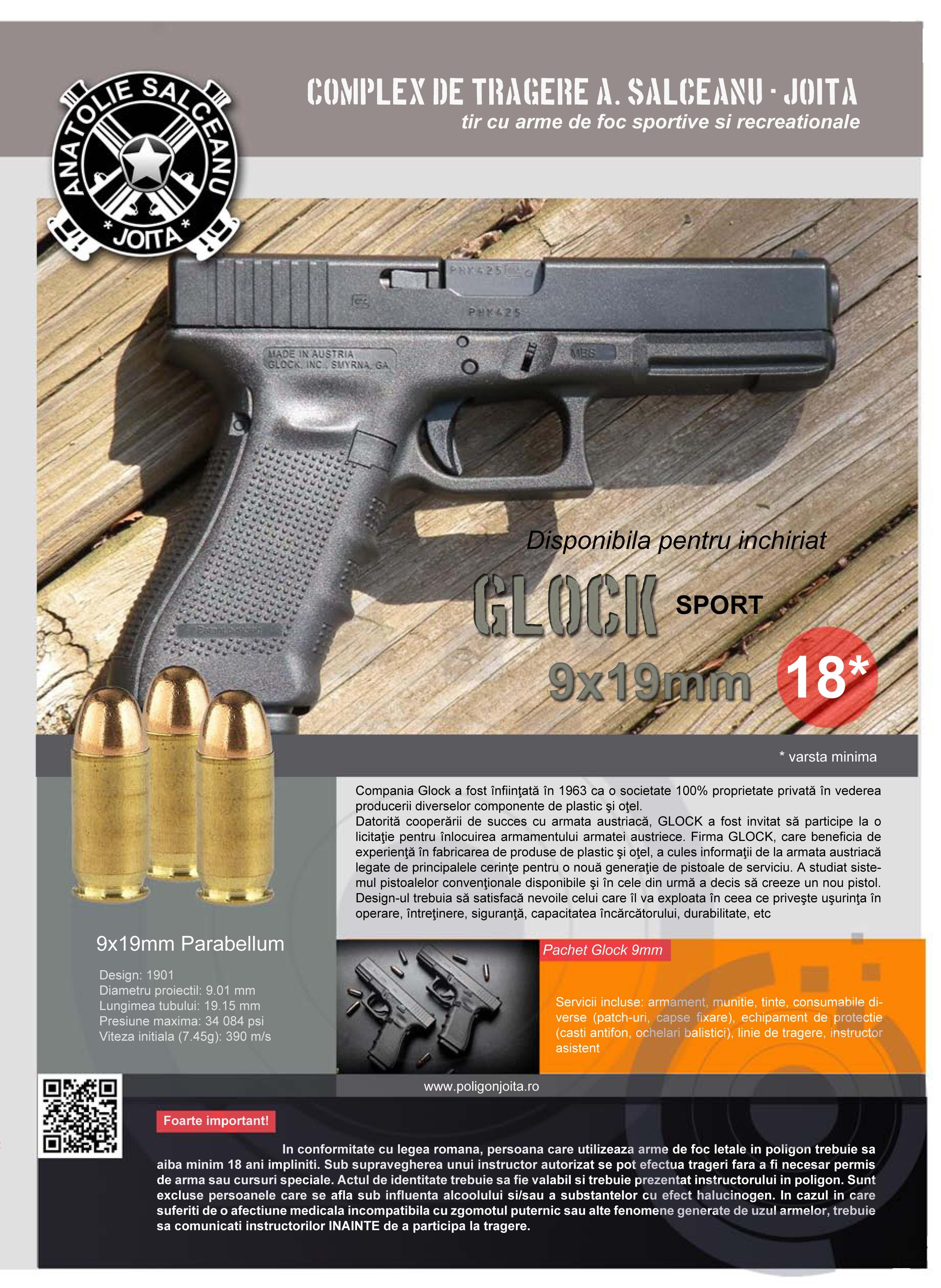 Plansa Glock