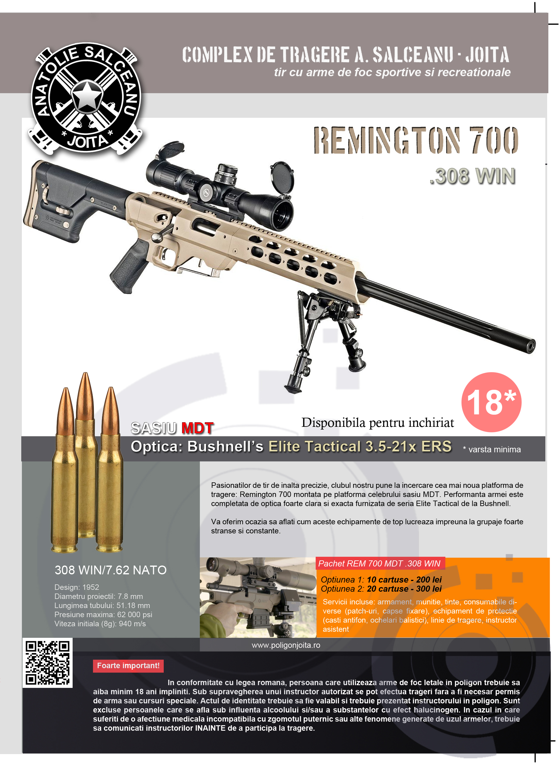 Plansa Remington 700
